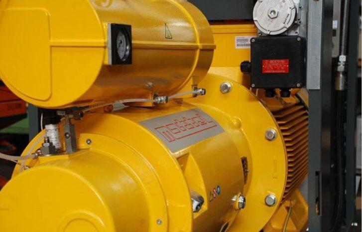 Plynové kompresory Mattei